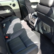 Comfortable Land Rover Seating, Candys 4x4