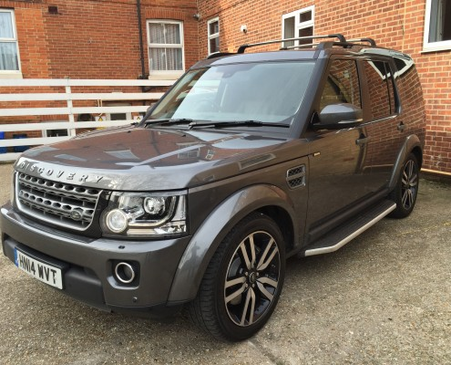 Grey 4x4, Land Rover Discovery
