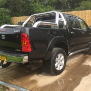 Black Toyota Hilux for Sale