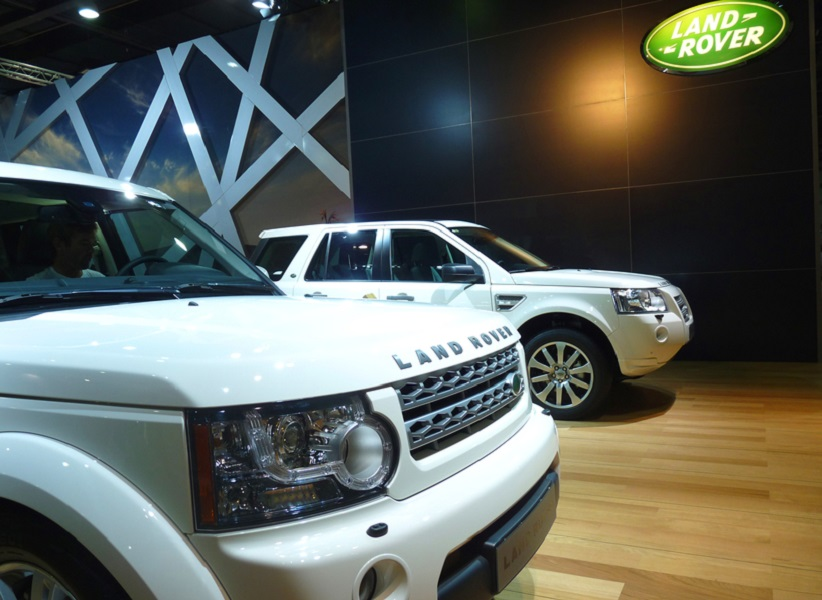 Land Rover Display