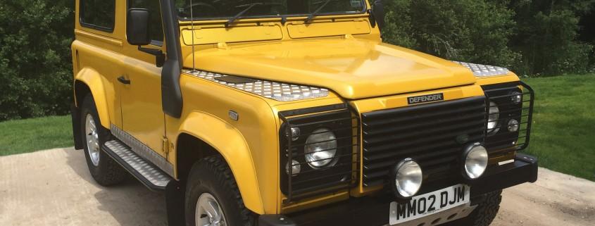 Land Rover MOT's, Candys 4x4 Dorset