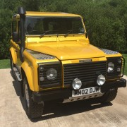 Commercial Land Rover vehicles, Hampshire