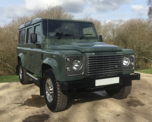 Range Rover Defender Modifications, Candys 4x4
