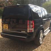 Land Rover Discovery, Black Out Windows