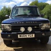 Candys 4x4 Navy Blue Land Rover Discovery